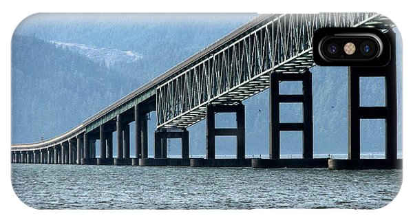 Astoria-megler Bridge Cormorants IPhone Case