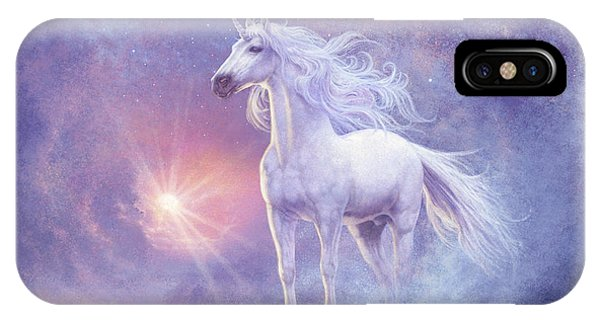 Spirituality iPhone Case - Astral Unicorn by MGL Meiklejohn Graphics Licensing