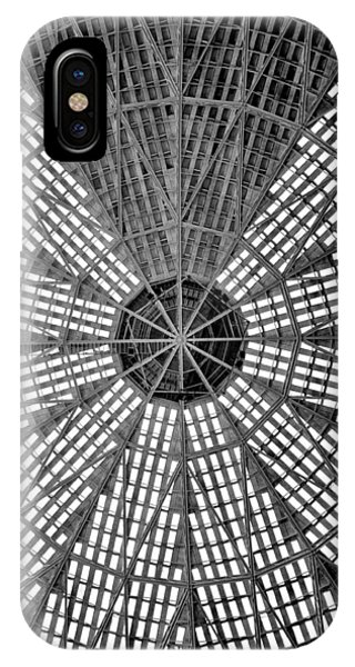 Astro iPhone Case - Astrodome Ceiling by Benjamin Yeager