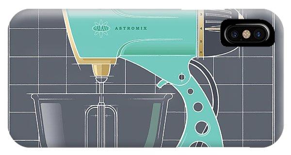 Astromix - Aqua IPhone Case
