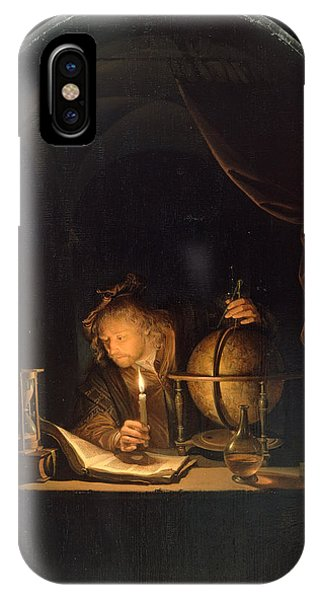 Astronomer By Candlelight IPhone Case