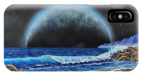 Astronomical Ocean IPhone Case