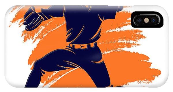 Astro iPhone Case - Astros Shadow Player2 by Joe Hamilton