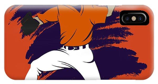 Astro iPhone Case - Astros Shadow Player3 by Joe Hamilton