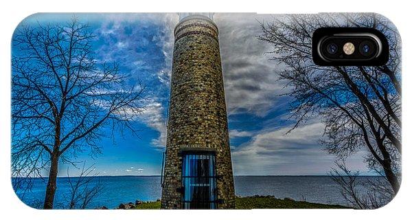 Asylum Point Lighthouse IPhone Case