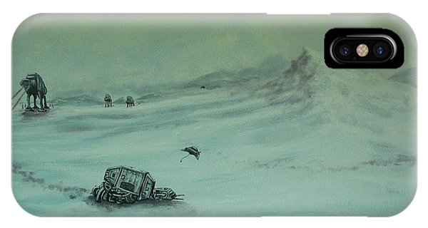 At-at Down IPhone Case