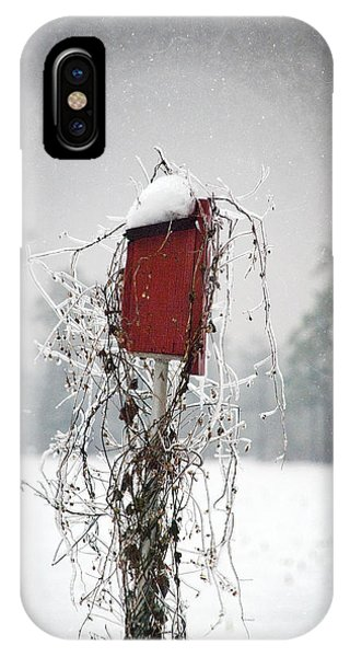 At Home In The Snow IPhone Case