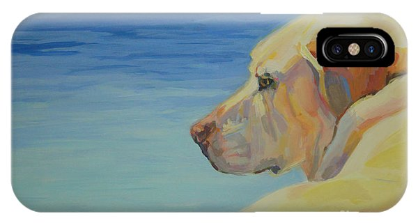 Retriever iPhone Case - At Peace by Kimberly Santini