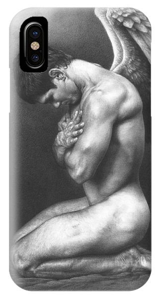 Gay Men iPhone Case - At Peace by Maciel Cantelmo
