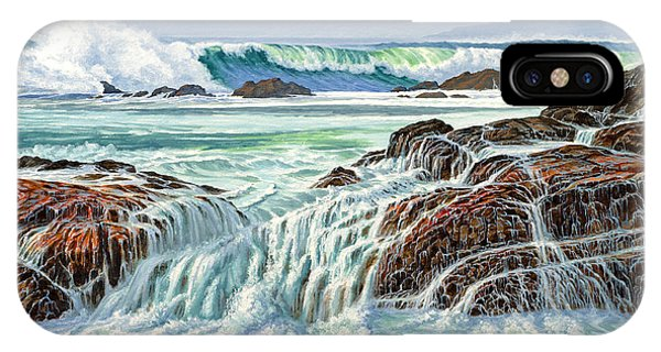 Pacific Ocean iPhone Case - At Point Lobos by Paul Krapf