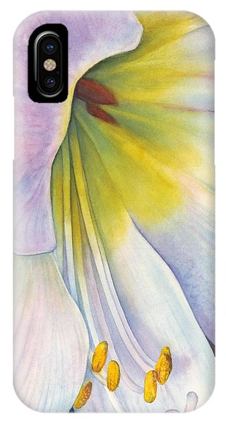 Amaryllis iPhone Case - At The Altar by Sandy Haight