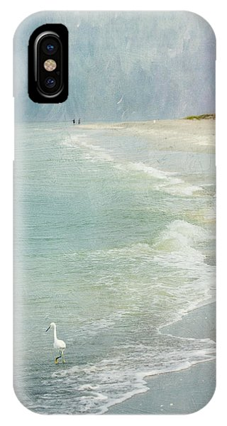 Teal iPhone Case - At The Beach - Captiva Island by Kim Hojnacki