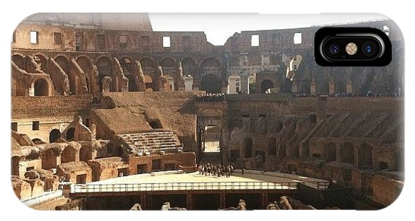 Style iPhone Case - The Colosseum In Rome by Marcela Martinez