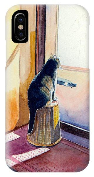 At The Door IPhone Case