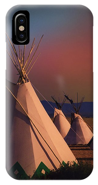 At The Encampment IPhone Case