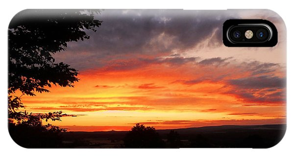 Sonne iPhone Case - At The End Of The Day ... by Juergen Weiss