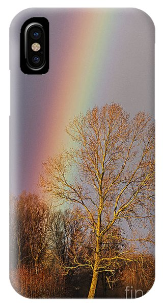 At The End Of The Rainbow IPhone Case