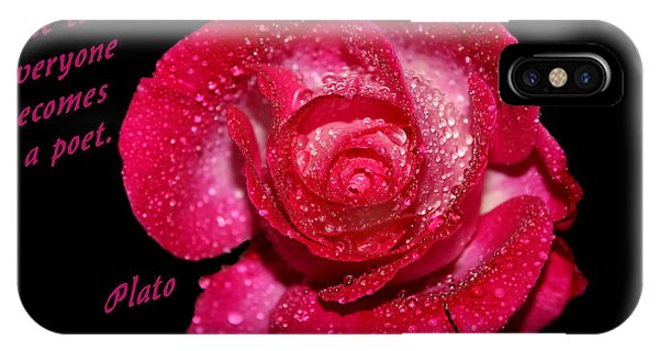 At The Touch Of Love  IPhone Case