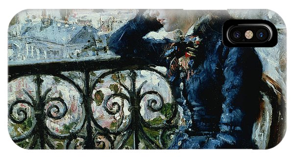 At Work iPhone Case - At The Window by Hans Olaf Heyerdahl