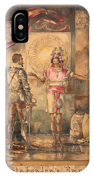 Atahualpa's Ransom Helen Maitland Armstrong IPhone Case