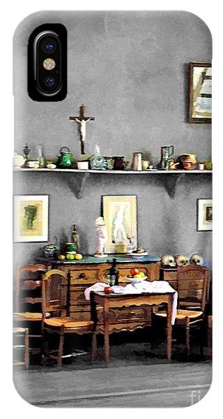 French Painter iPhone Case - Atelier De Cezanne by Jennie Breeze
