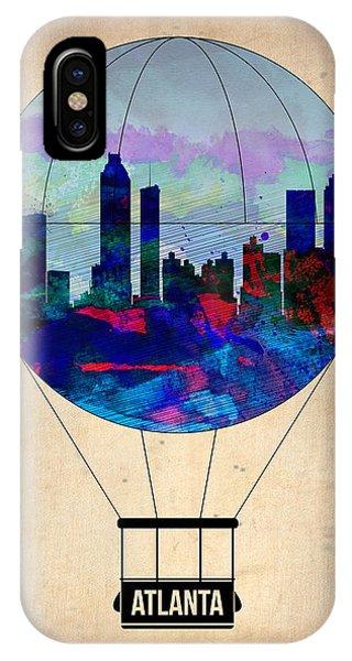 Georgia iPhone Case - Atlanta Air Balloon  by Naxart Studio