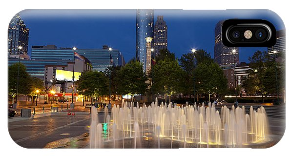 Atlanta By Night IPhone Case