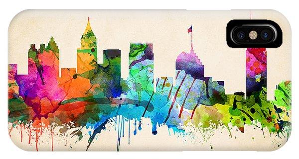 Atlanta Cityscape IPhone Case