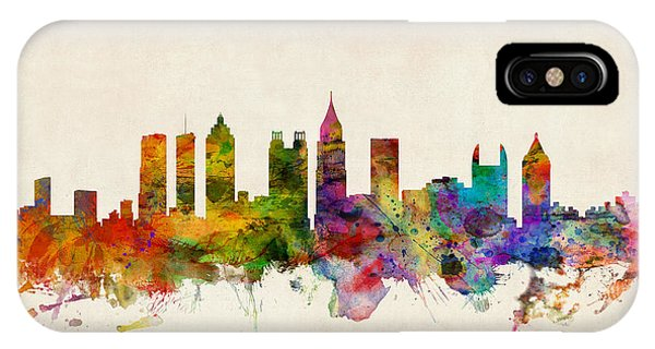 Atlanta Georgia Skyline IPhone Case