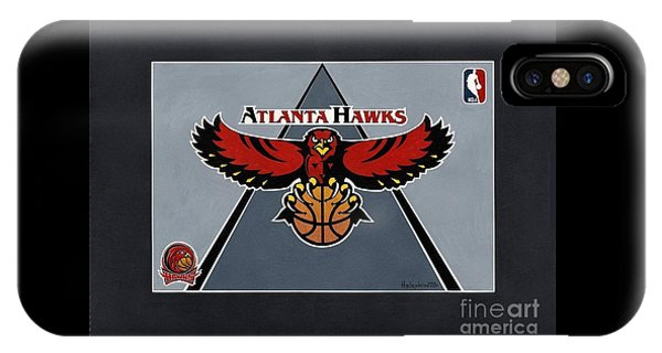 Atlanta Hawks T-shirt IPhone Case