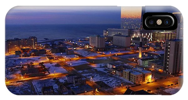 Atlantic City At Dawn IPhone Case
