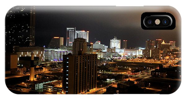 Atlantic City At Night IPhone Case