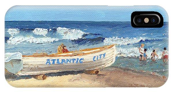 iPhone Case - Atlantic City Beach by Arch