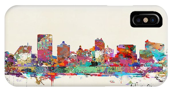 New Jersey iPhone Case - Atlantic City New Jersey by Bri Buckley