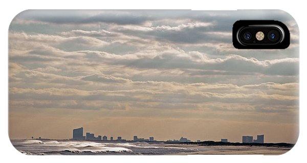 Atlantic City Skyline II IPhone Case