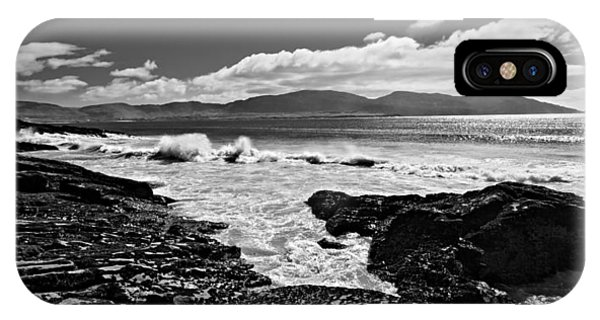 IPhone Case featuring the photograph Atlantic Coast / Donegal by Barry O Carroll