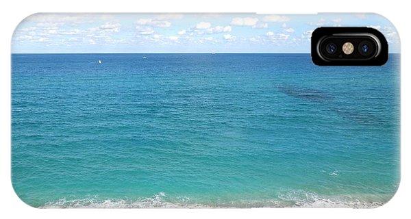 Atlantic Ocean In South Florida IPhone Case