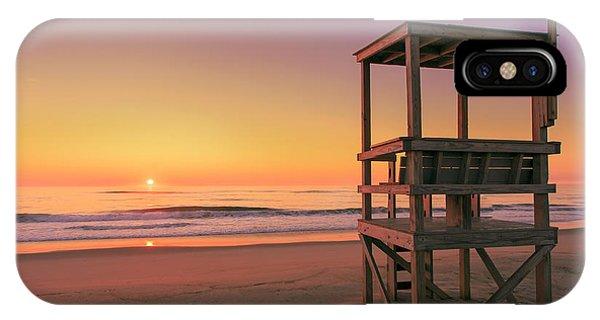 Atlantic Ocean In The Morning - Nauset Beach Phone Case by Dapixara