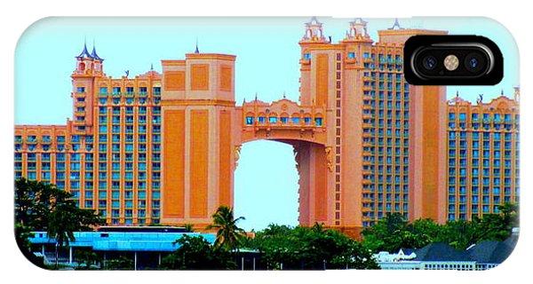 Atlantis Bahamas IPhone Case