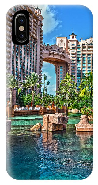 Atlantis - Bahamas IPhone Case