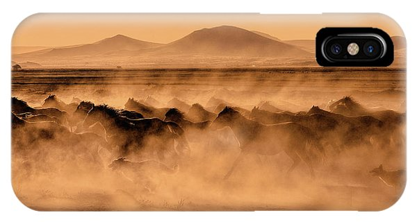 Dust iPhone Case - Atlar... by Fatma Barlas ?zkavalc?o?lu