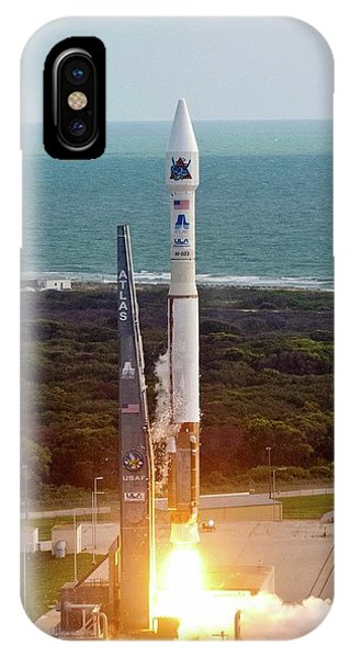 Atlas V Rocket Launch IPhone Case