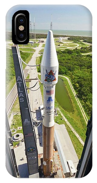 Atlas V Rocket On Launch Pad IPhone Case