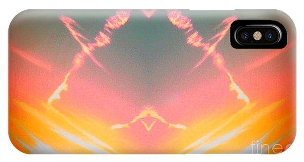 Atomic Contrail IPhone Case