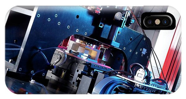 Npl iPhone Case - Atomic Force Microscope by Andrew Brookes, National Physical Laboratory/science Photo Library