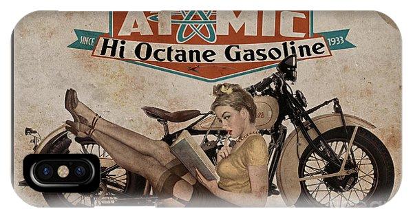 Atomic Gasoline IPhone Case
