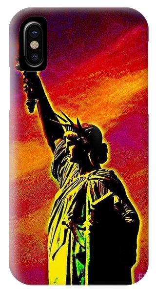Atomic Liberty IPhone Case