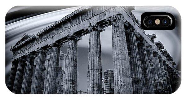 Atop The Acropolis IPhone Case