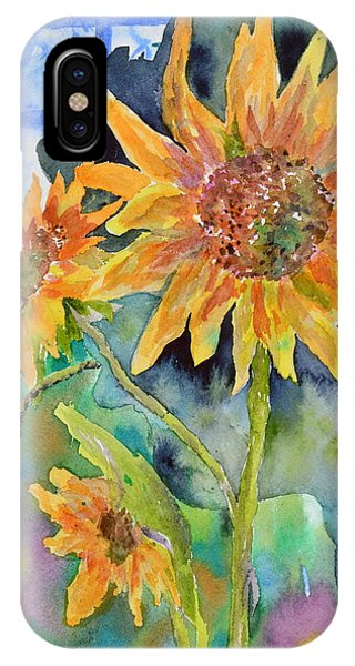 Attack Of The Killer Sunflowers IPhone Case