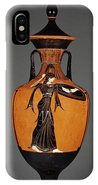Lid iPhone Case - Attic Panathenaic Amphora With Lid Attributed by Litz Collection